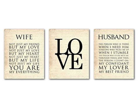 wife husband typography love anniversary wedding