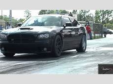 Tuned Nissan GTR vs Supercharged Charger SRT 8 w 64