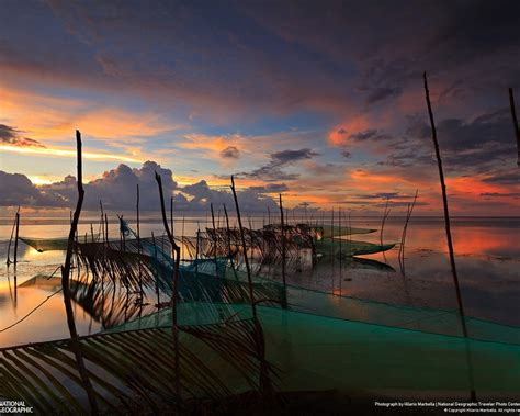 dusk  patar beach national geographic wallpaper preview