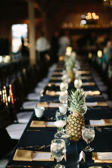 fun pineapple wedding ideas happyweddcom
