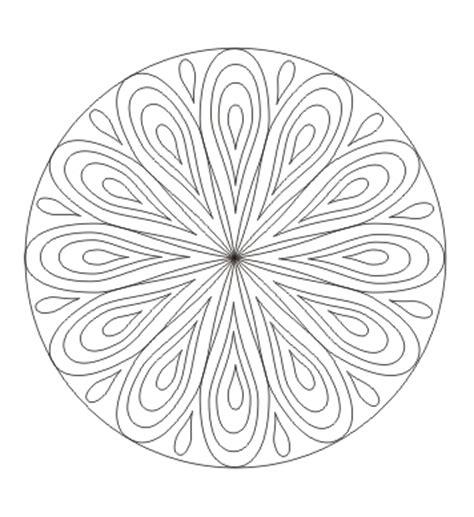 ausmalbilder mandala mit tropfen malvorlagen