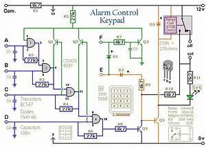 How To Build A 4-digit Alarm Control Keypad