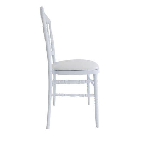 chaise napoleon blanche chaise napoléon polycarbonate location de mobilier de