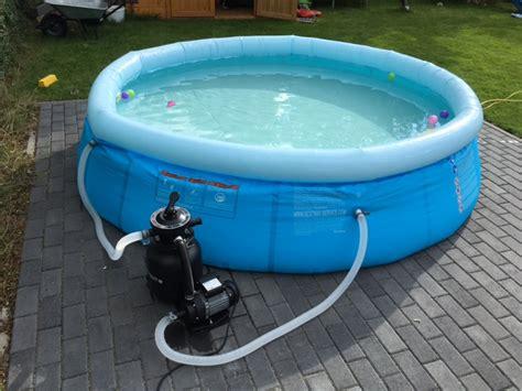 pool mit filteranlage swimming pool zum aufstellen im garten kosten einkaufsliste hausbau