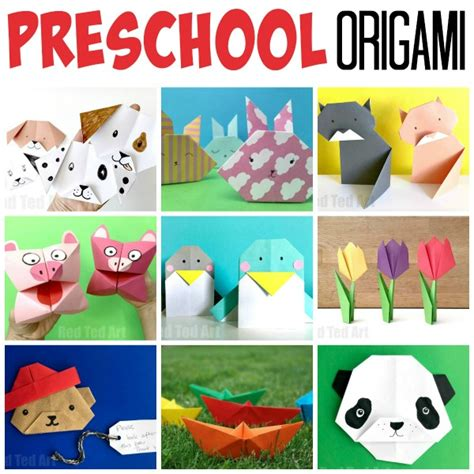 origami for preschool ted 746 | Preschool origami