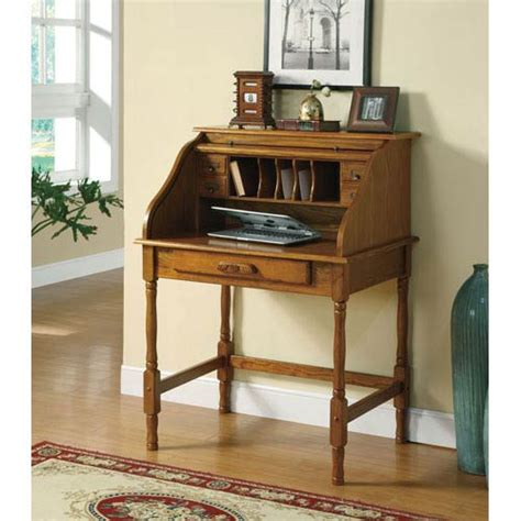 small secretarys desk palmetto small roll top desk coaster furniture