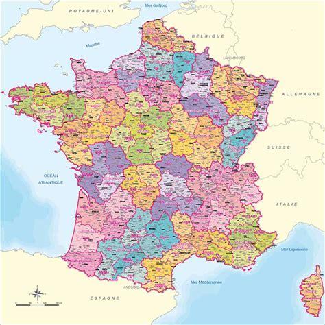 Carte De Avec Villes Principales by Tourisme En Carte Des Villes Principales