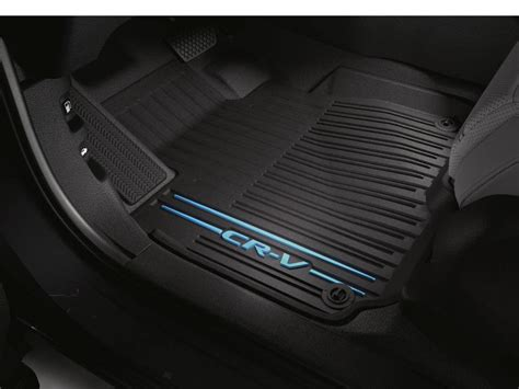 crv floor mats genuine oem honda all new cr v black blue all season floor