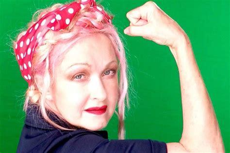 Broadway Stars Cyndi Lauper, Patina Miller Strike 'rosie