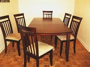 Chaise Table A Manger : chaises de salle a manger kijiji ~ Teatrodelosmanantiales.com Idées de Décoration