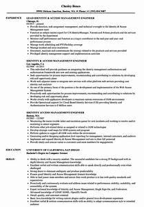 identity access management engineer resume samples With identity and access management resume examples