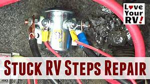 Repairing Stuck Motorhome Steps  Kwikee Steps - Travel Supreme Rv