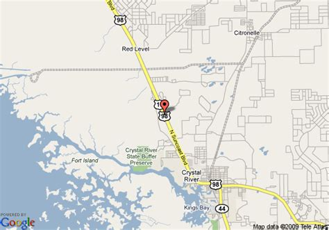 map  comfort inn crystal river crystal river