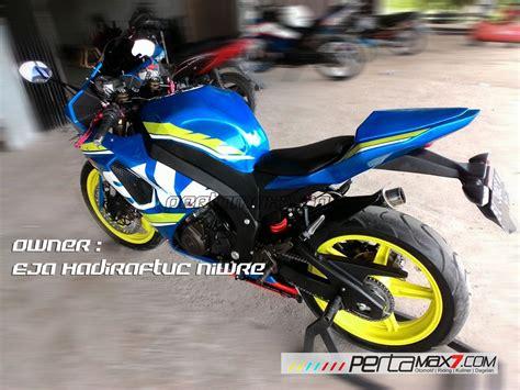 Modifikasi R 2008 by Modifikasi Suzuki Satria F 2008 Jadi Fairing Bak Gsx