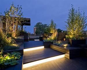 moderner terrassenteppich 40 interessante vorschlage With balkon teppich mit tapete mit beleuchtung