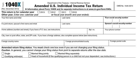 irs form to amend 2015 tax return old fashioned amended return filings could cost irs