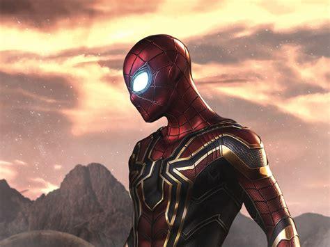 desktop wallpaper artwork iron spider iron man fan