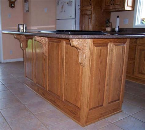 wood brackets and counter brackets