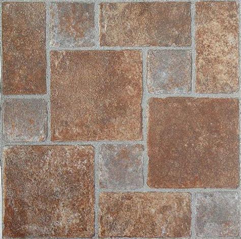 BRICK pavers STONE self STICK adhesive VINYL floor TILES