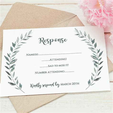 We did not find results for: Wedding rsvp card template printable rsvp card Leaves   Etsy