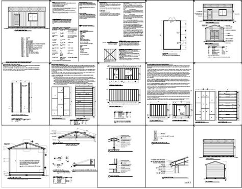 storage building plans 12x20 pdf woodworking