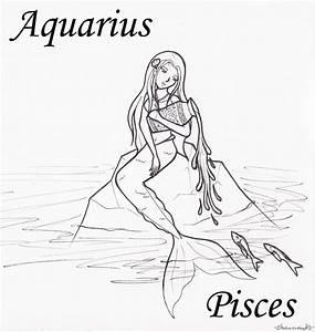 Aquarius Pisces by Adrastia217 on DeviantArt