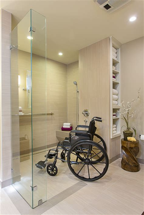 Handicapped Accessible Bathroom Plans by Accessible Barrier Free Aging In Place Universal Design