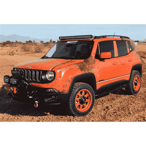 jeep renegade rock sliders kevinsoffroadcom overland