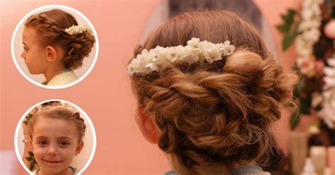 coiffure enfant mariage notre tuto pour coiffer vous