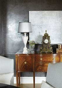 Wandfarbe Silber Glänzend : wandfarbe silber ist wie licht innerhalb der ~ Michelbontemps.com Haus und Dekorationen