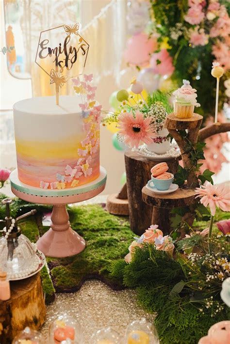 karas party ideas woodland butterfly tea party karas