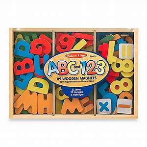 melissa dougr letters and numbers magnetic bundle With melissa and doug magnetic alphabet letters