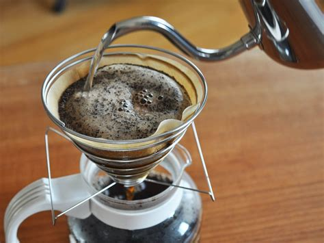 coffee science      pourover coffee