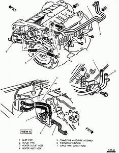 Smokin Engine  In 1999 Cadillac Deville Engine Diagram