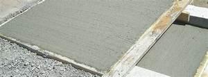 couler une dalle de beton pour votre terrasse en 8 etapes With couler une dalle de terrasse