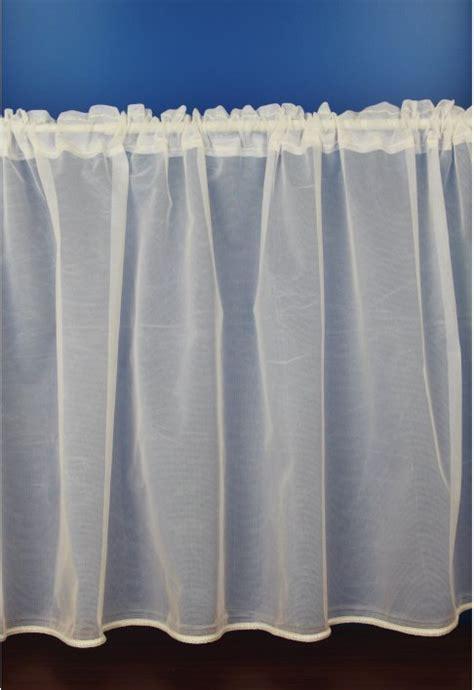 eva white plain cafe net curtains woodyatt curtains