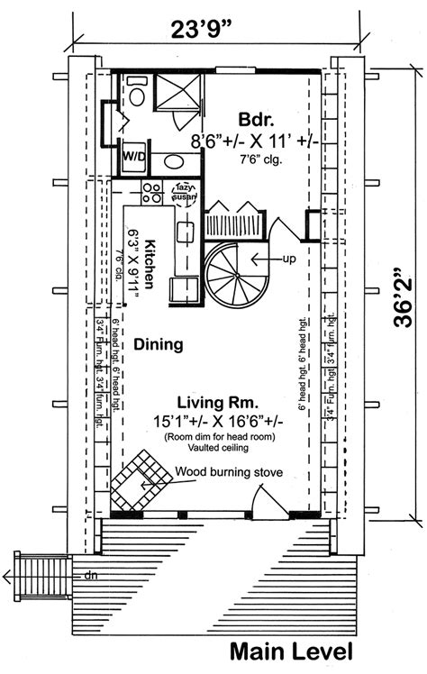 a frame cabin plans free house plan 24308 at familyhomeplans com