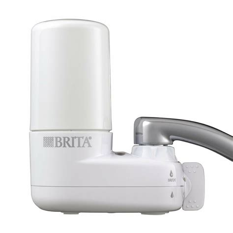 Filter Faucet by Brita Tap Water Filter Faucet Sink Filtration Purifier