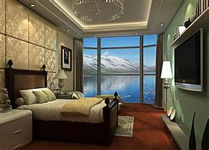 Hotel bedroom wall interior design for Interior wall designs bedroom
