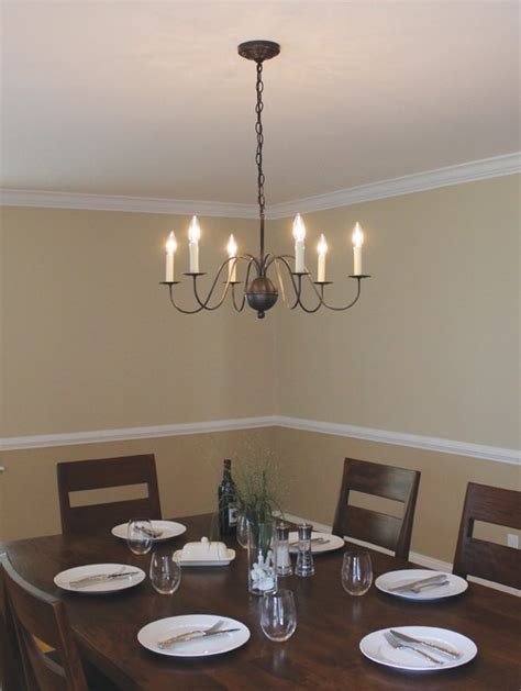 Popular Dining Room Chandeliers by Best Colonial Style Lighting For Dining Rooms Reviews