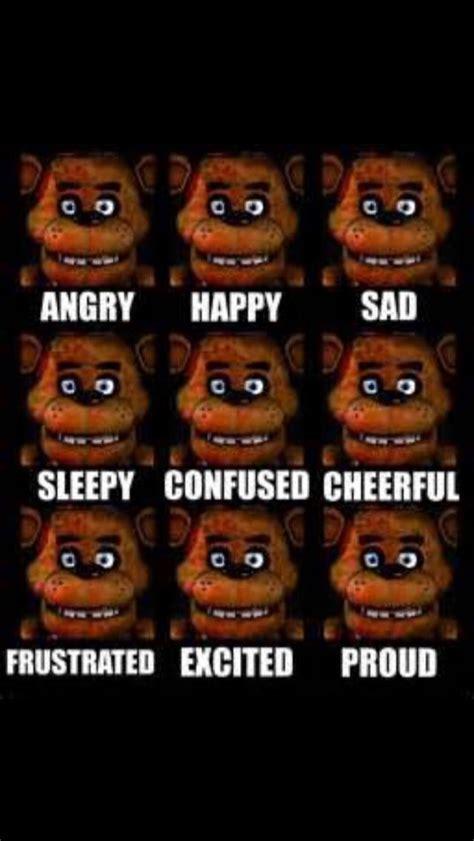 fnaf the many faces of freddy fazbear fnaf fnaf freddy fazbear and