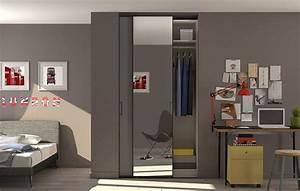 Porte Coulissante Miroir Placard : avantages des portes de placard coulissantes ~ Premium-room.com Idées de Décoration