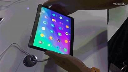 Folding Tablet Lenovo Smartphone Device Prototype Gadget