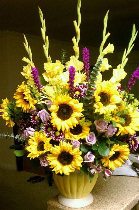 sunflower arrangement floral arrangements ive