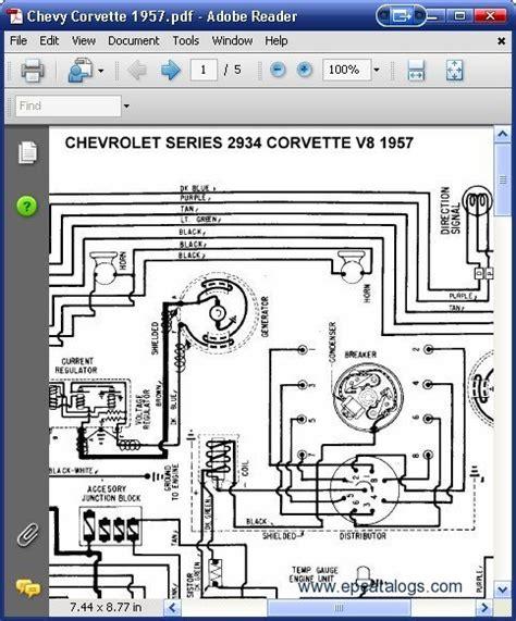 Chevrolet Corvette Wiring Diagrams Download