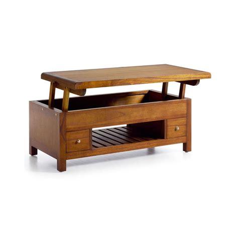 Table Basse Avec Tiroirs by Table Basse En Bois Avec Tiroir Table De Salon En Noyer