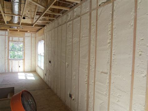 spray foam insulation  remodeling projects design