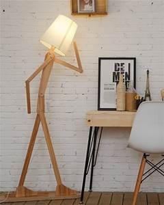 50 unique floor lamps that always deserve the spotlight With wood stick floor lamp
