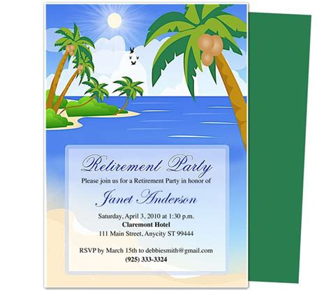 Retirement Party Flyer Templates
