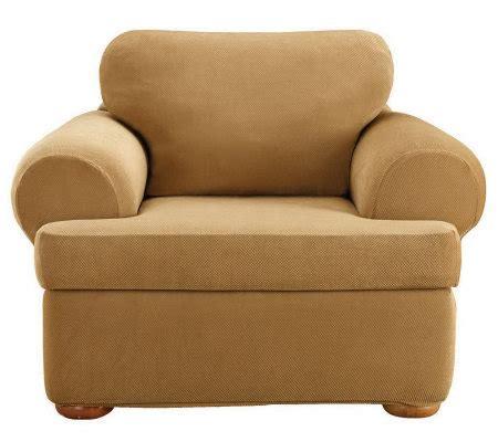 sure fit stretch pique 3 piece t cushion sofa slipcover sure fit stretch pique 3 piece t cushion chairslipcover